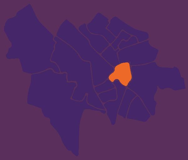 Kaart wijken Utrecht